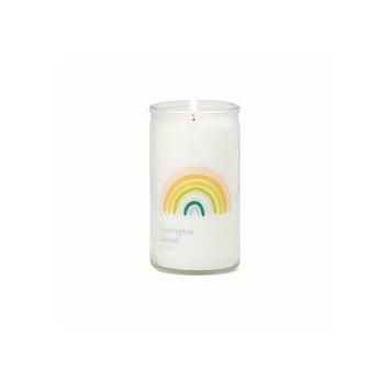 Paddywax Eucalyptus Santal Small Rainbow Spark Candle
