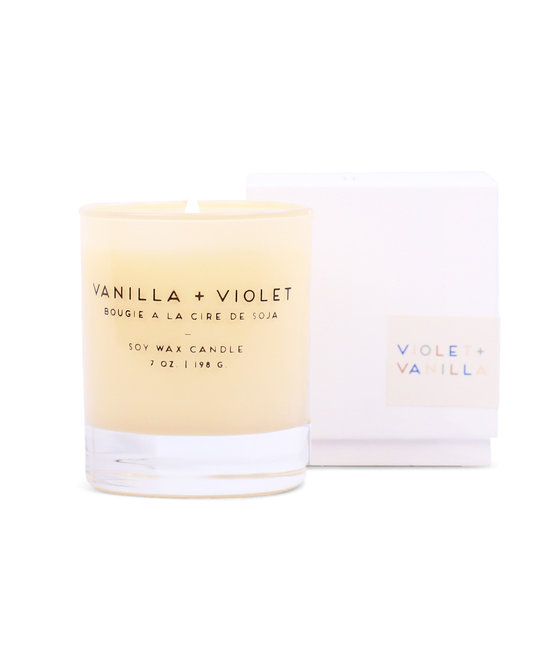 Paddywax - PA Large Violet + Vanilla Statement Candle