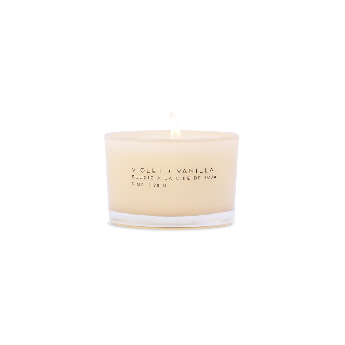 Paddywax 3 oz. Violet + Vanilla Statement Candle