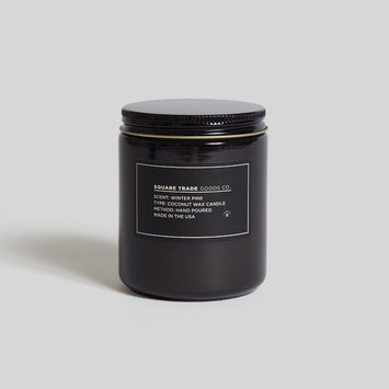 Square Trade Goods Co. Winter Pine Candle