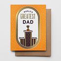 Hammerpress - HA World's Greatest Dad Card