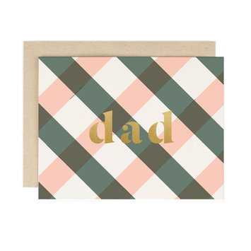 Amy Heitman Illustration Dad Plaid
