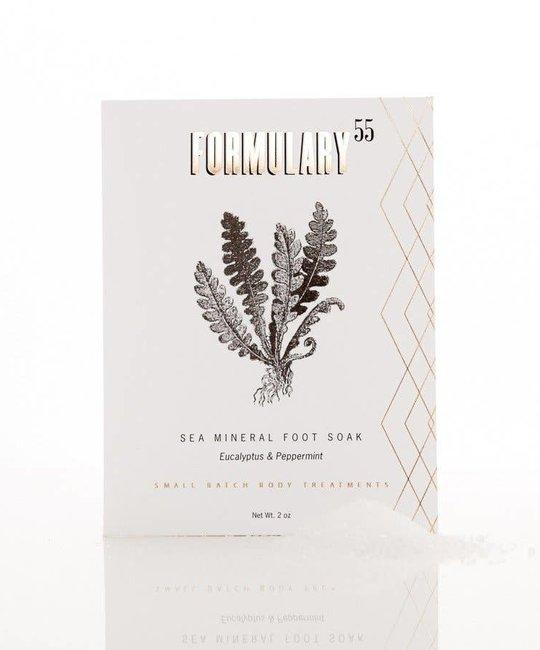 Formulary 55 - FOR Peppermint & Eucalyptus Foot Soak