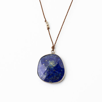 Margaret Solow Margaret Solow  Sterling Silver Lapis Necklace