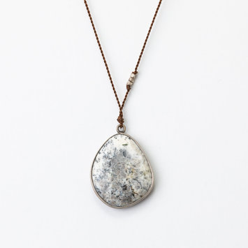 Margaret Solow Margaret Solow Sterling Sliver Dendritic Necklace