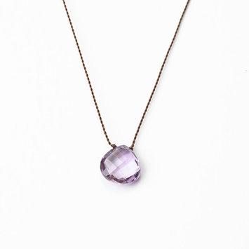 Margaret Solow Margaret Solow Faceted Zen Gem Pink Amethyst Necklace