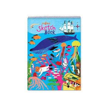 Eeboo In the Sea Sketchbook - blank