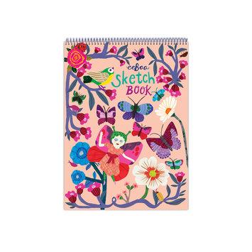 Eeboo Butterflies and Flowers Sketchbook - blank