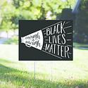 Gus and Ruby Letterpress Black Lives Matter Yard Sign