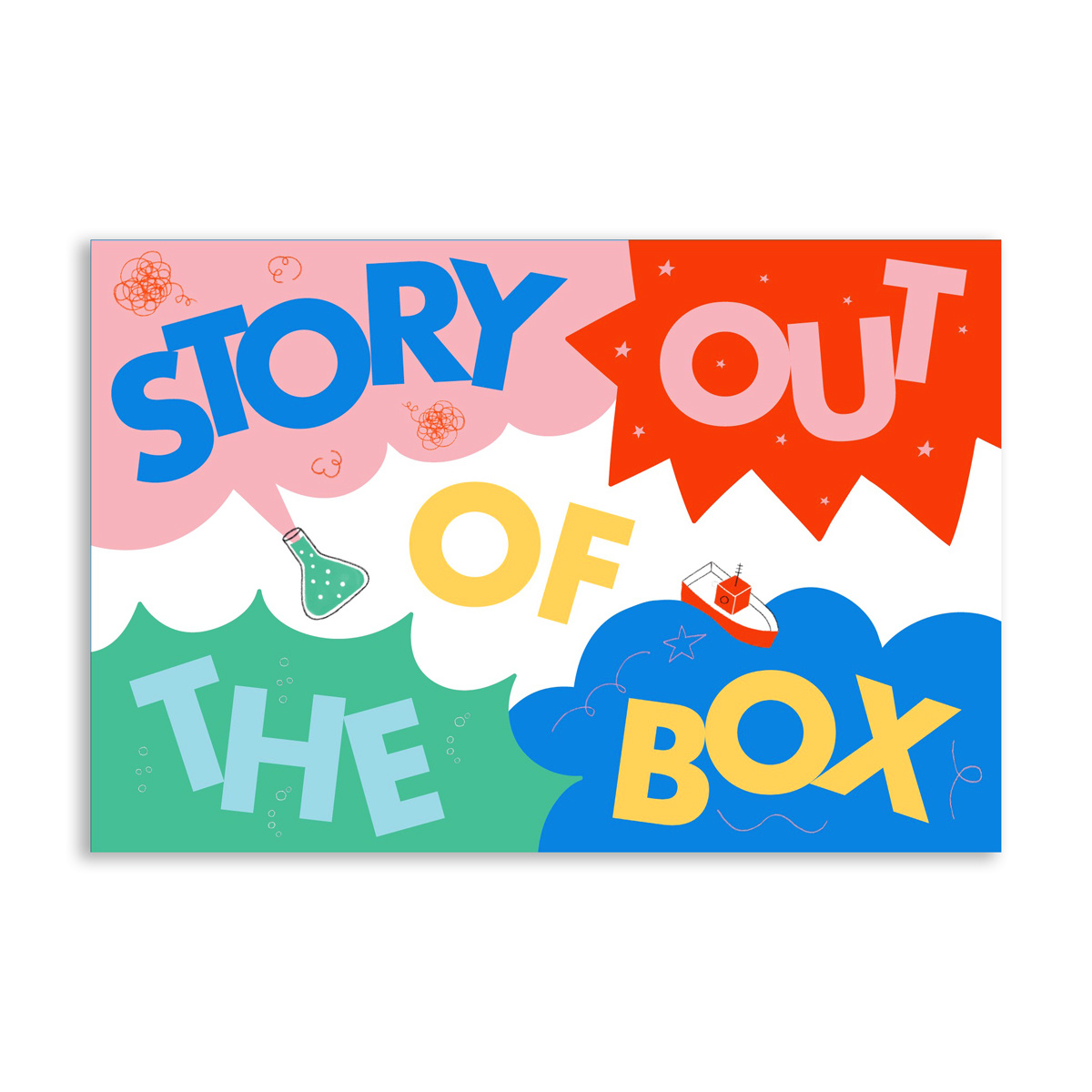 Chronicle Books Story Out of the Box: 80 Cards for Hours of Storytelling Fun