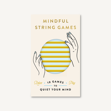 Chronicle Books - CB Mindful String Games: 10 Games to Quiet Your Mind