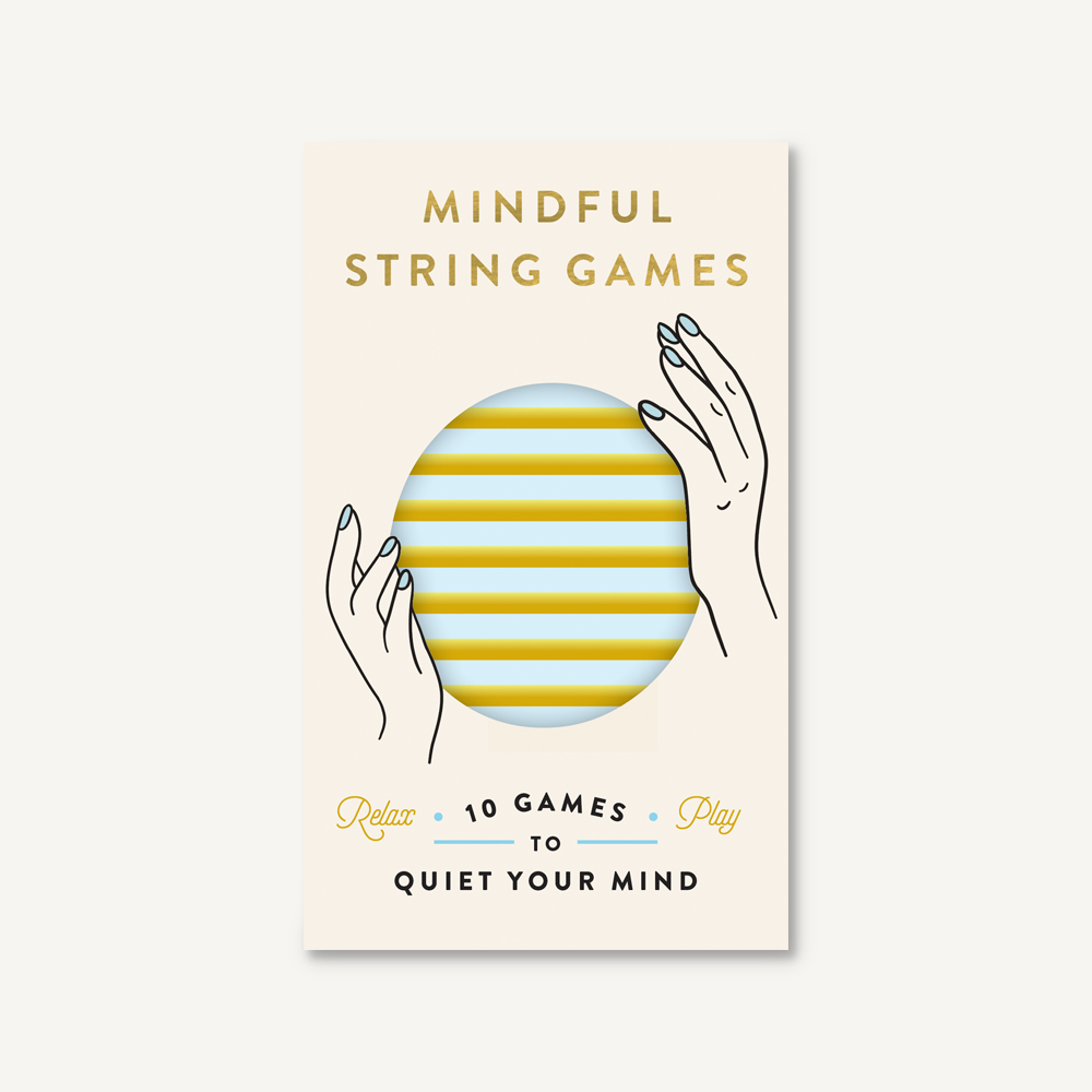 Chronicle Books Mindful String Games: 10 Games to Quiet Your Mind