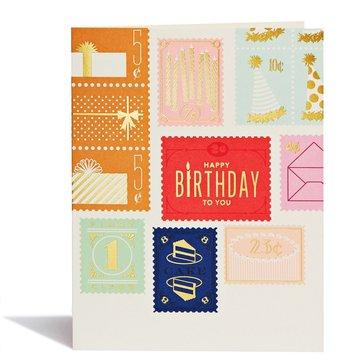 Snow and Graham - SG SGGCBI0037 -  Birthday Stamps