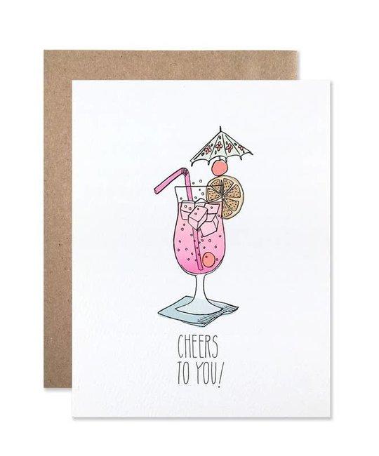 Hartland Brooklyn - HAR Cheers to You Tropical Drink Card