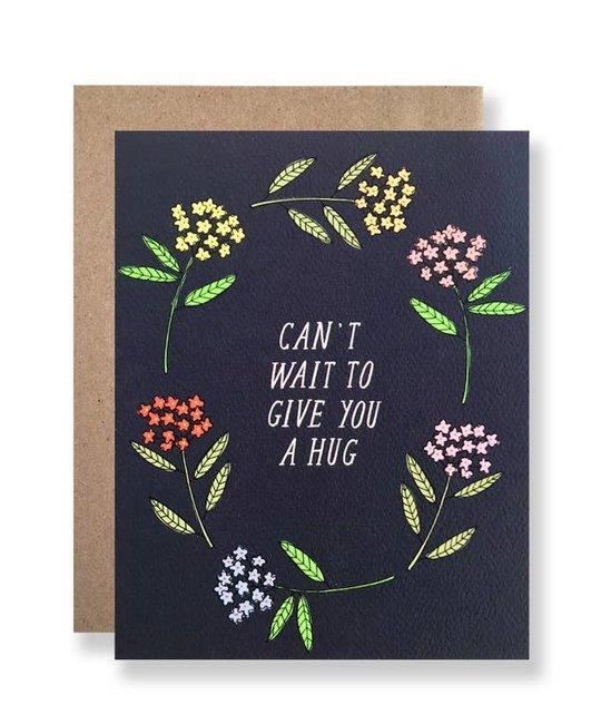 Hartland Brooklyn HARGCMI0014 - Can't Wait to Give you a Hug Card