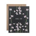 Hartland Brooklyn - HAR HARGCMI0014 - I Miss You Violets Card
