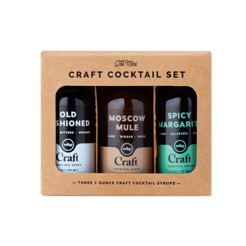 w and p design Mini Cocktail Syrup 3-Pack Set