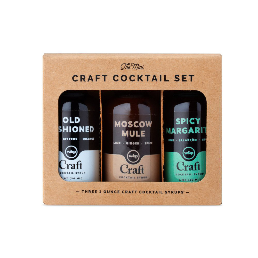 W&P Design - WP Mini Cocktail Syrup 3-Pack Set