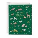 Red Cap Cards - RCC Tiny Animals Greeting Card