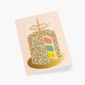 Rifle Paper Co. RPGCBI0060 - Layer Cake Birthday Card
