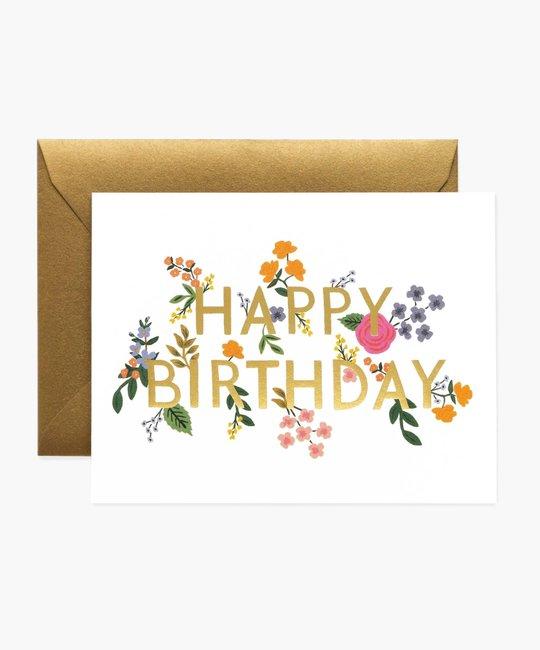 Rifle Paper Co RPGCBI0064 - Wildwood Birthday Card