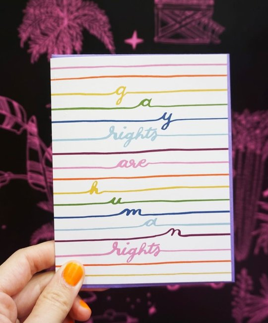 Ash + Chess AACGCMI0001 - Gay Rights Human Rights