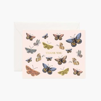 Rifle Paper Co - RP RPGCTY0029 - Monarch Thank You