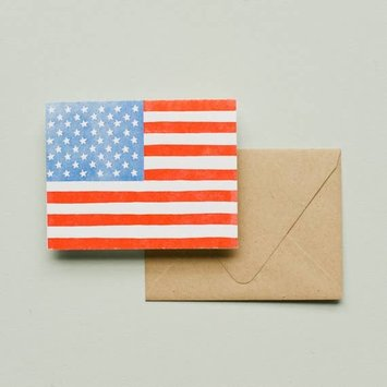 Printerette Press PRPGCMI0008 - American Flag