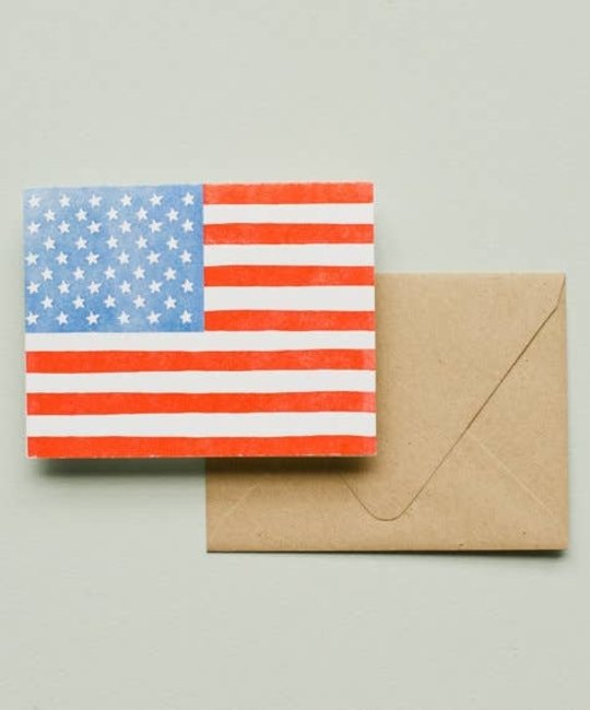 Printerette Press - PRP PRPGCMI0008 - American Flag