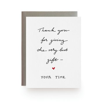 Wild Ink Press - WI WIGCTY0017 - The Very Best Gift, Your Time