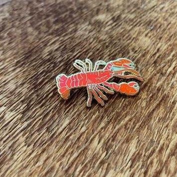 Noteworthy Paper and Press NPP AC - Lobster Enamel Pin