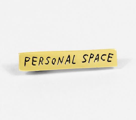AdamJK AJK AC - Personal Space Pin