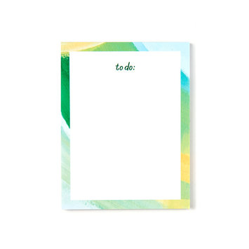 Evergreen Summer Brendan Mini Notepad