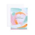 Evergreen Summer - ES Watercolor Anniversary Card