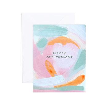 Evergreen Summer ESGCAN0001 - Stacy Anniversary Card