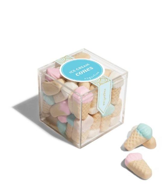 Sugarfina - SU SU FAD - Ice Cream Cone Gummies Small Cube