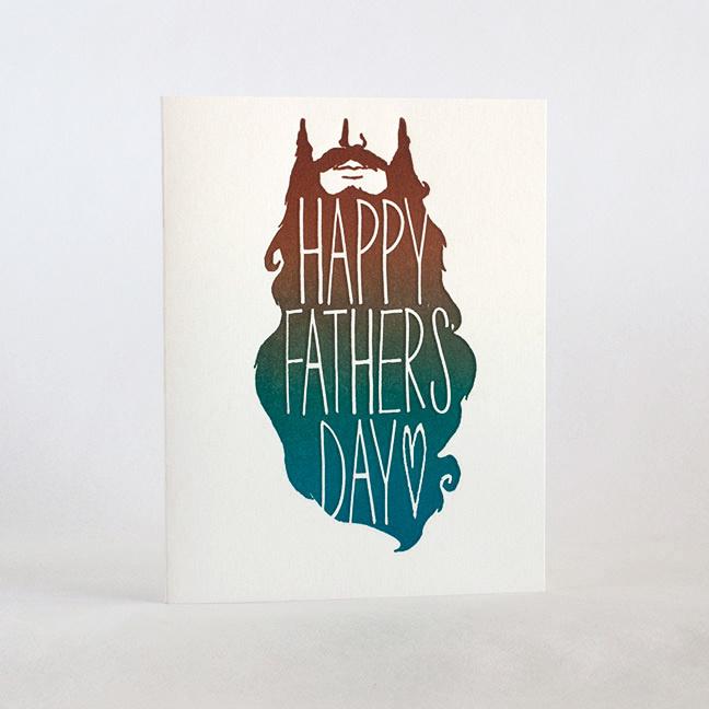 Fugu Fugu Press Father's Day Beard