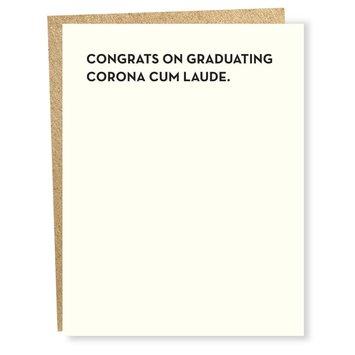 Sapling Press - SAP Corona Cum Laude Graduation Card