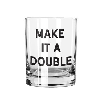 Creative Brands Make it a Double Rocks Glass