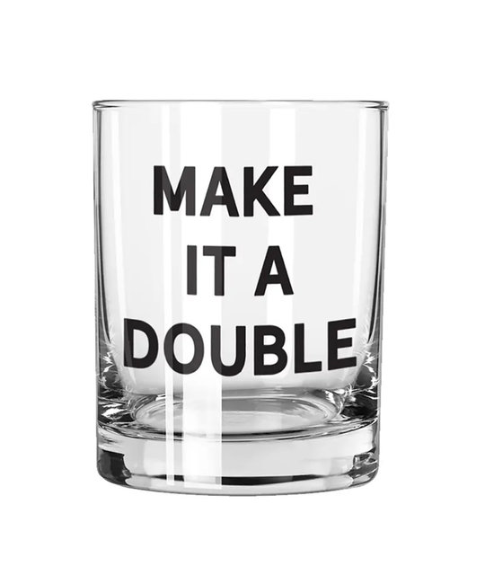 Creative Brands Make it a Double Rocks Glass