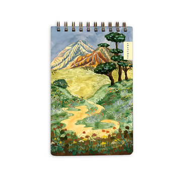 Small Adventure Mountain Landscape Note Pad