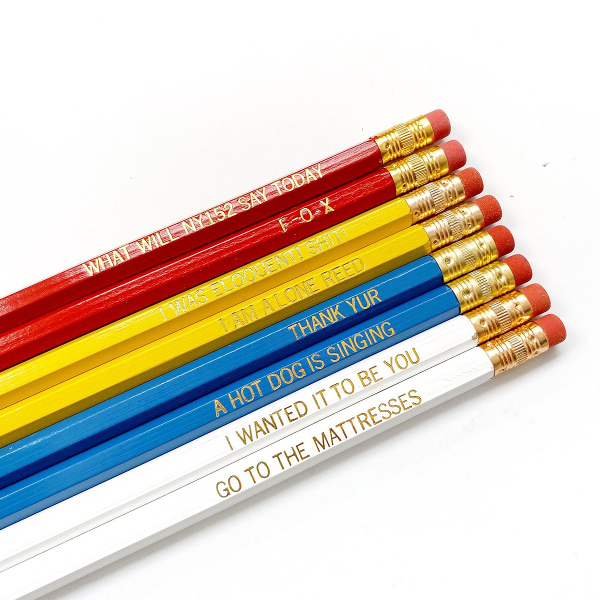 Calliope Pencil Factory You've Got Mail Pencil Set