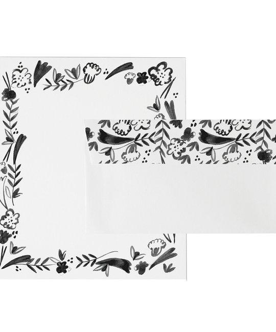 Mr. Boddingtons Studio Fleurs For You - Letterhead Set