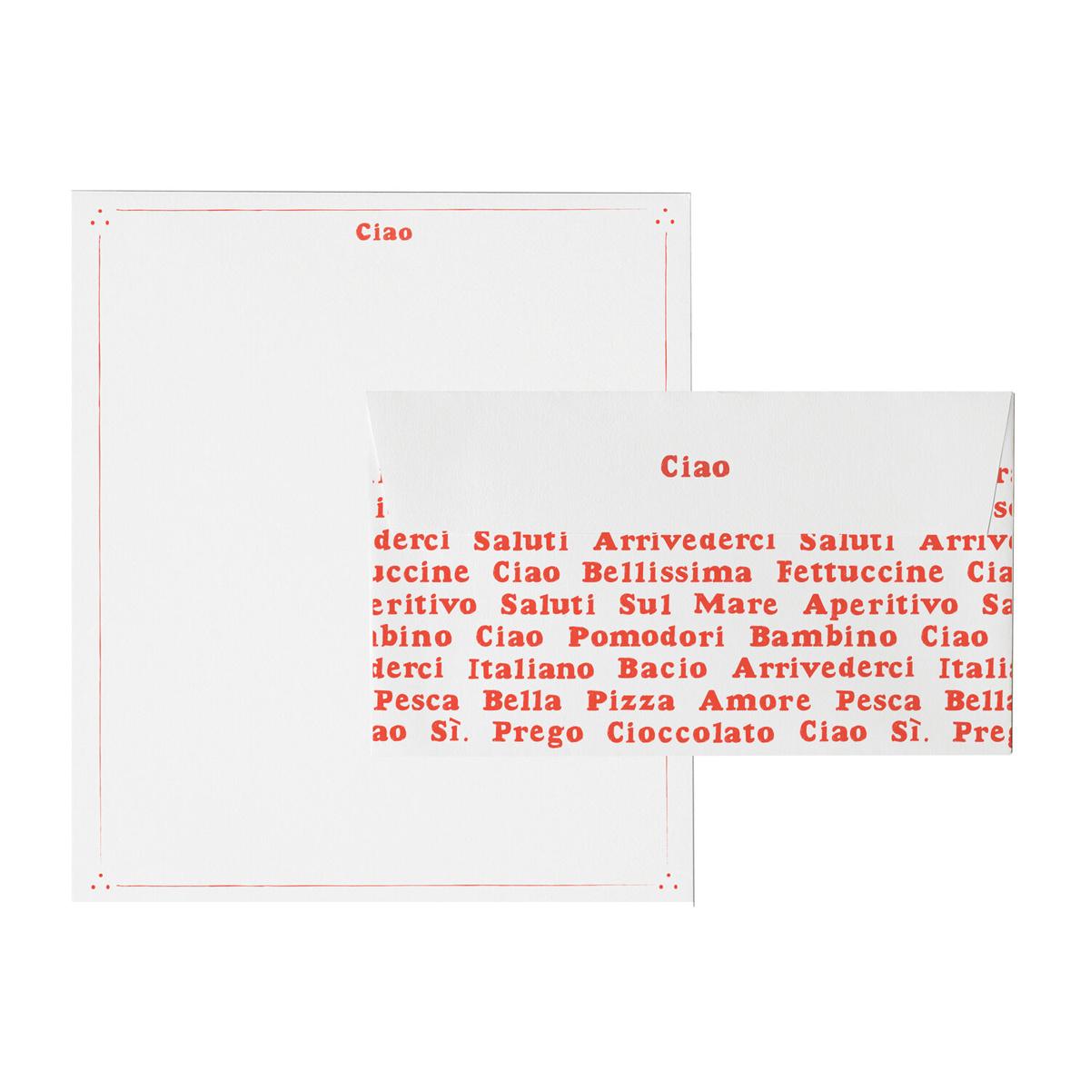 Mr. Boddington's Studio - MB Parli Italiano? Letterhead Set