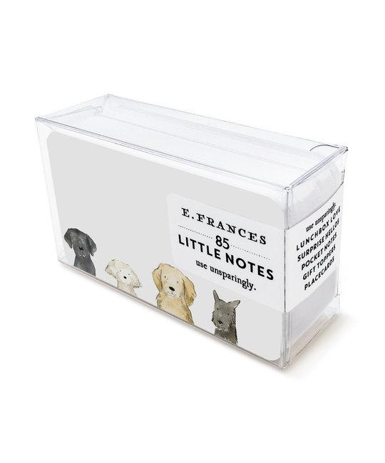 E. Frances Paper Studio Dog Days Little Notes, set of 85