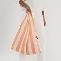 BAGGU Baggu Washed Brick Stripe Reusable Bag