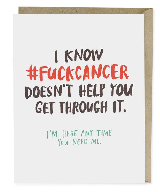 Emily McDowell EMMGCSY0024 - Fuck Cancer Doesn't Help