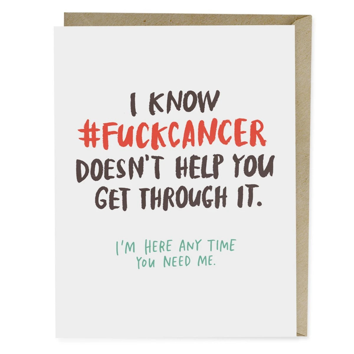 Emily McDowell - EMM EMMGCSY0024 - Fuck Cancer Doesn't Help
