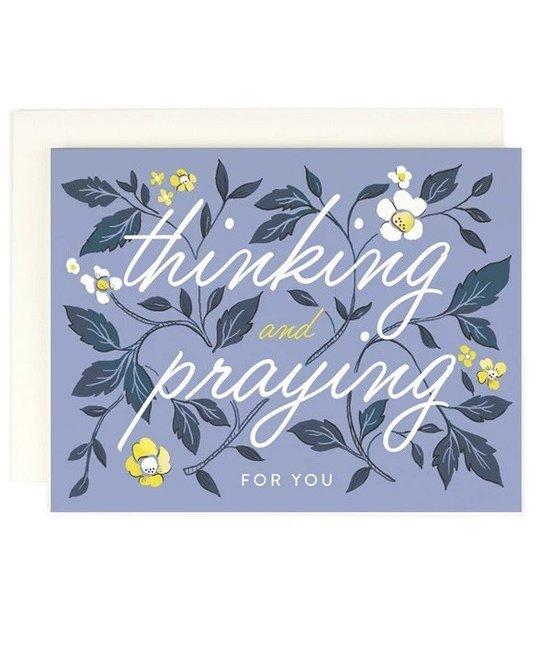 Amy Heitman Illustration AHIGCSY0001 - Thinking and Praying