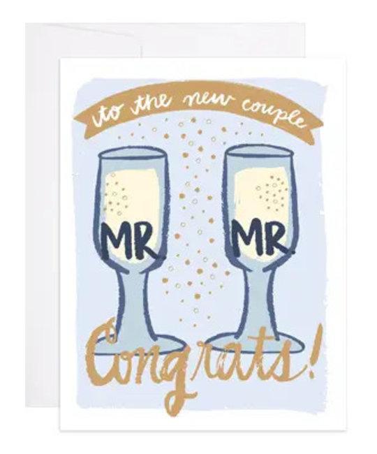 9th letterpress 9LGCWE0010 - Mr. and Mr.